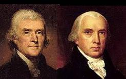 Jefferson and Madison opposed democracy.